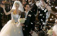 En una fiesta de bodas
