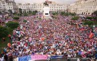 Cerca de 2 millones de personas marchan contra la ideología de género