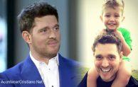 Michael Bublé agradece a Jesús por sanar de cáncer a su hijo de 5 años